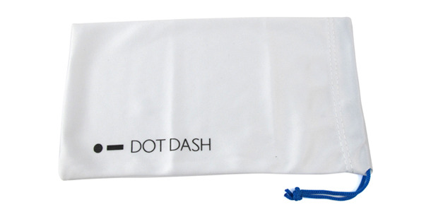 DOT DASH ALL MICROFIBER SUNGLASS BAG